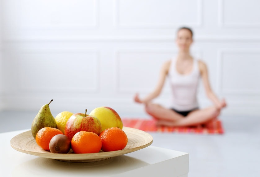Image result for yoga and food