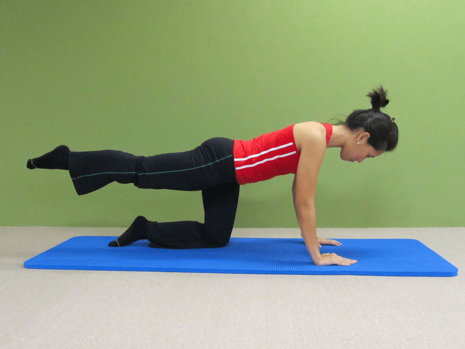 Quadruped with Hip Circles