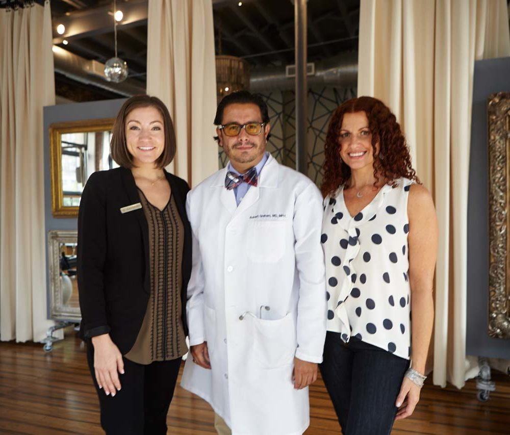 The FRESH Medicine team: Dr. Robert Graham, Michelle Miller, Julie Graham