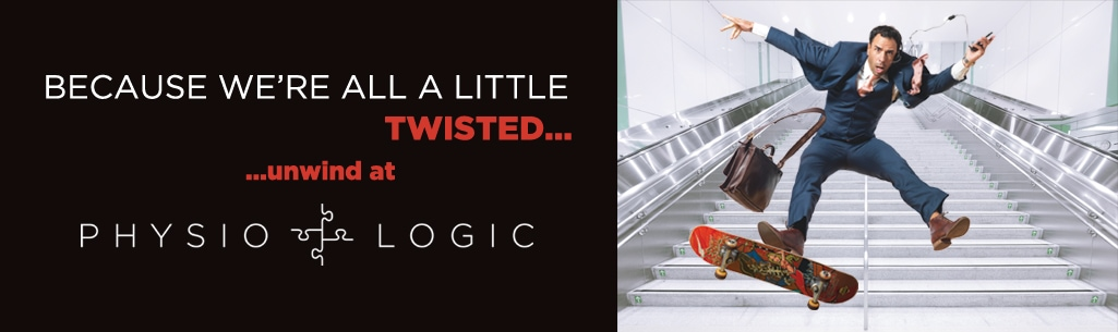 Because we're all a little twisted...unwind at Physio Logic | Downtown Brooklyn