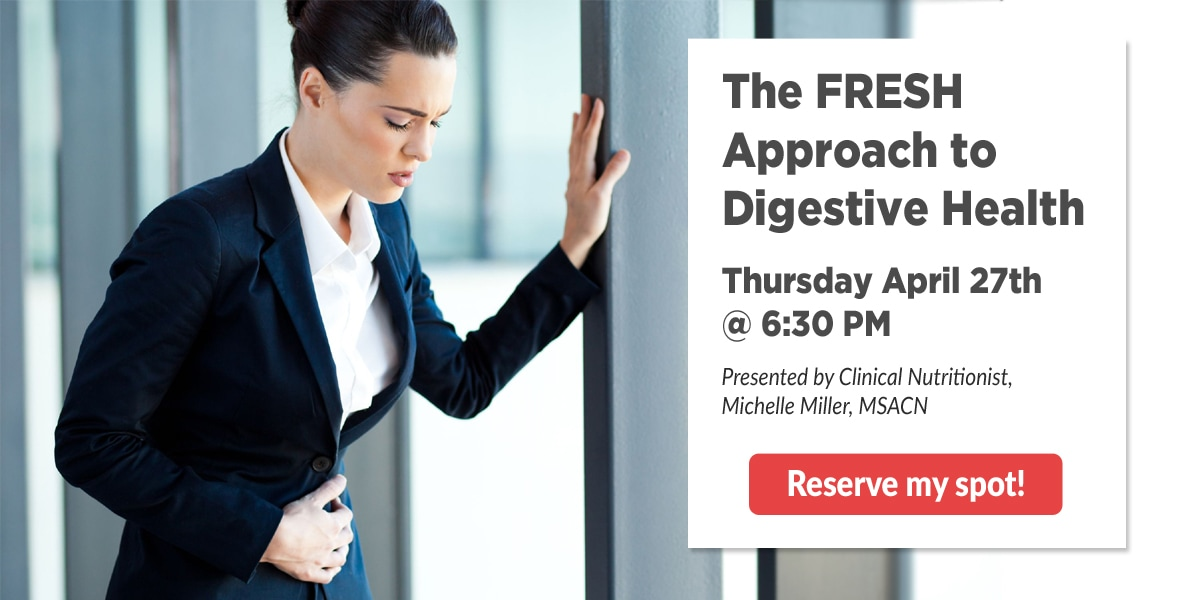 Digestive Health Workshop 4-27-2017