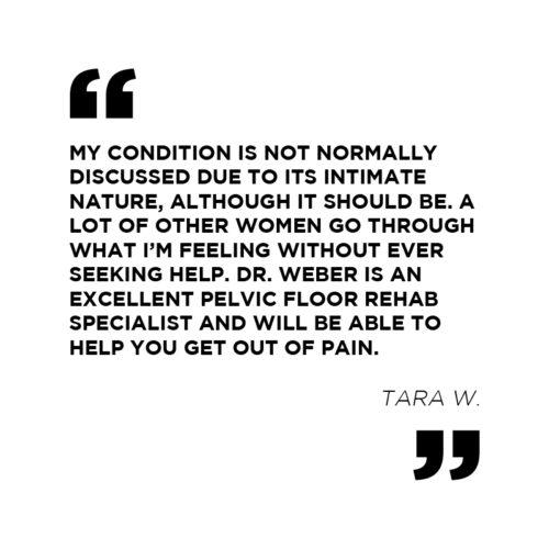 Tara W. Patient Testimonial | Physio Logic in Downtown Brooklyn