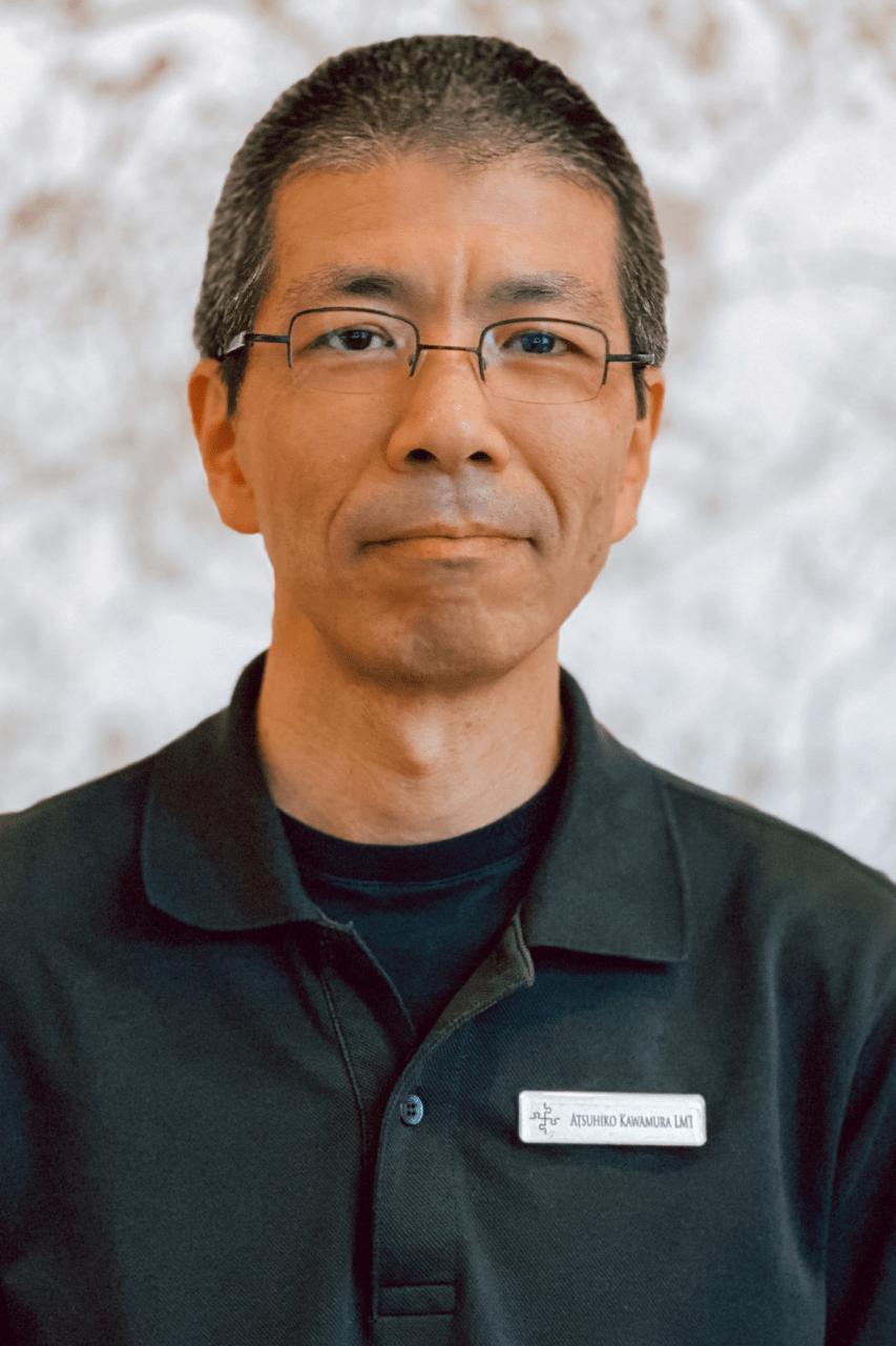 Atsuhiko Kawamura, LMT   Sports & Medical Massage Therapist   Brooklyn, NY   Serving NYC