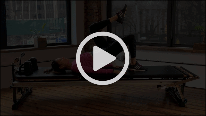 15 Minute Hip Moves with Lynda Salerno Gehrman, NYC Pilates Instructor in Brooklyn, NY.